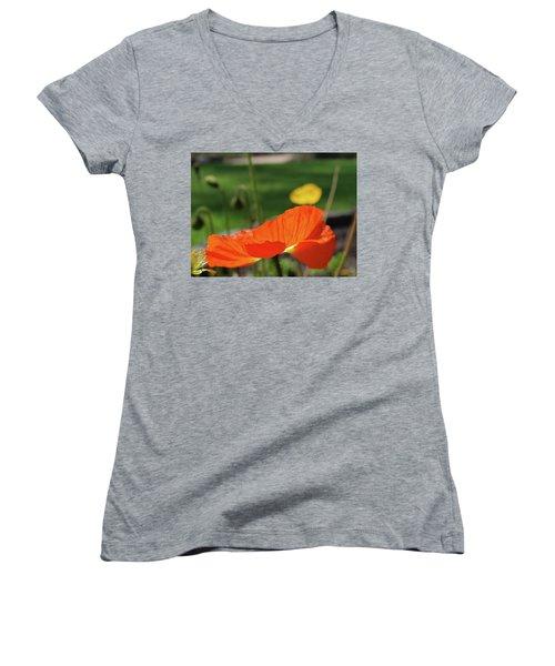 Poppy Cup Women's V-Neck T-Shirt