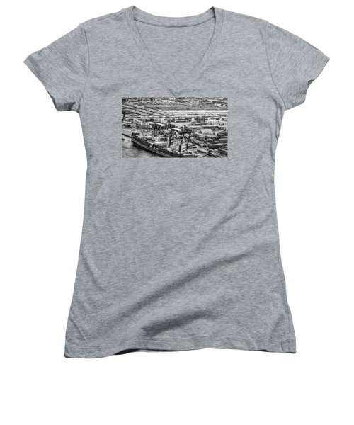Port Everglades 1 Women's V-Neck