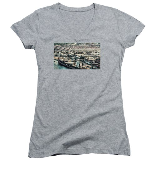 Port Everglades 2 Women's V-Neck