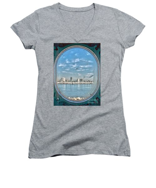 Port Hole  Women's V-Neck
