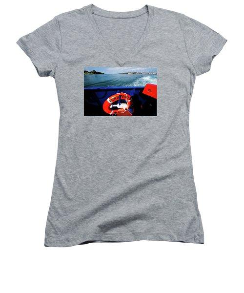 Portaferry Ferry Women's V-Neck T-Shirt