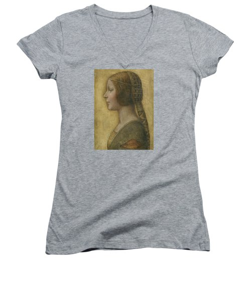 Portrait Of A Young Fiancee Women's V-Neck