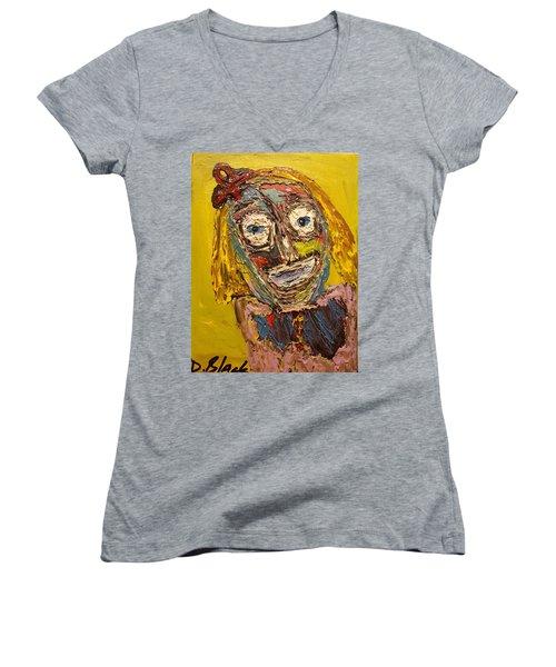 Portrait Of Finja Women's V-Neck T-Shirt