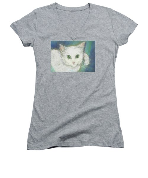 Portrait Of Misty Women's V-Neck T-Shirt