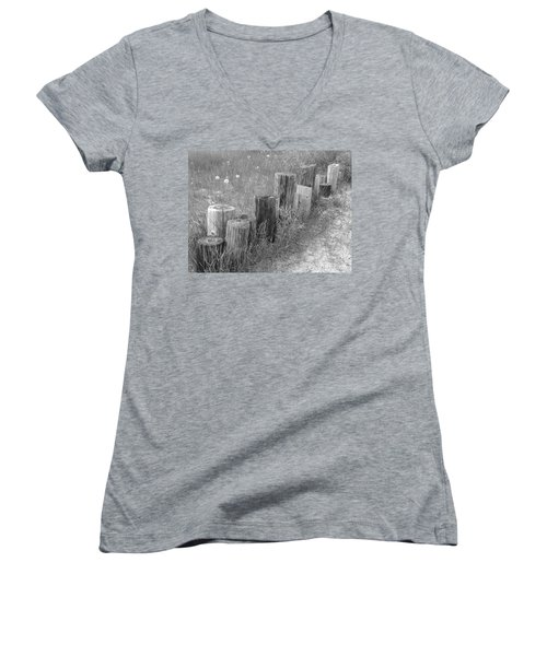 Posts In A Row Women's V-Neck T-Shirt