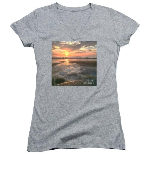 Pouring Out Women's V-Neck