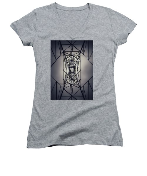 Power Above Women's V-Neck (Athletic Fit)