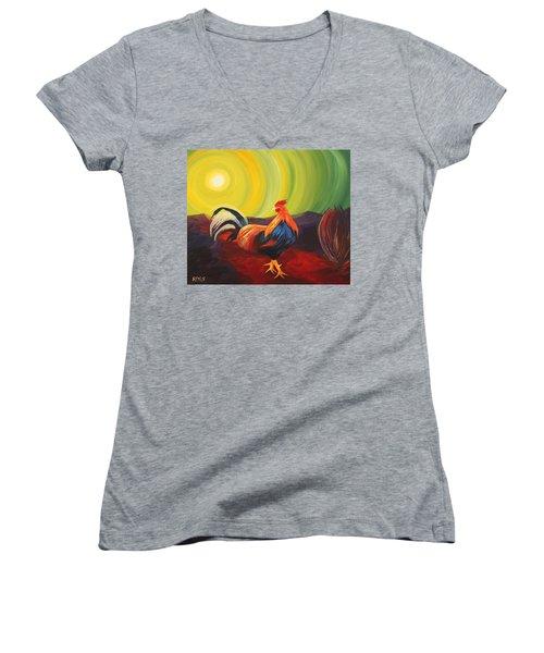Power And Elegance  Women's V-Neck T-Shirt