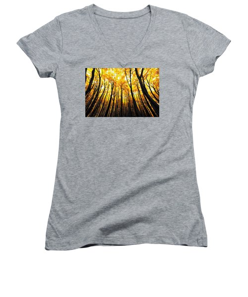 Power Of The Sun Women's V-Neck