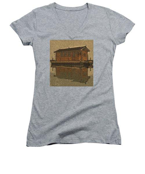 PR4 Women's V-Neck T-Shirt