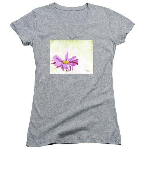 Praise 2 Women's V-Neck T-Shirt (Junior Cut)