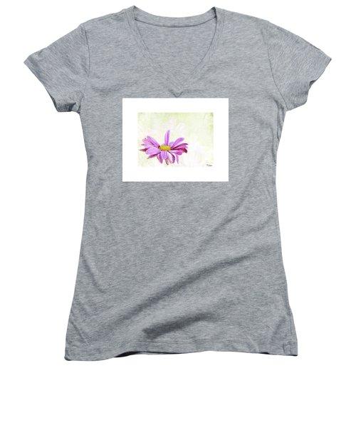 Praise Women's V-Neck T-Shirt (Junior Cut)