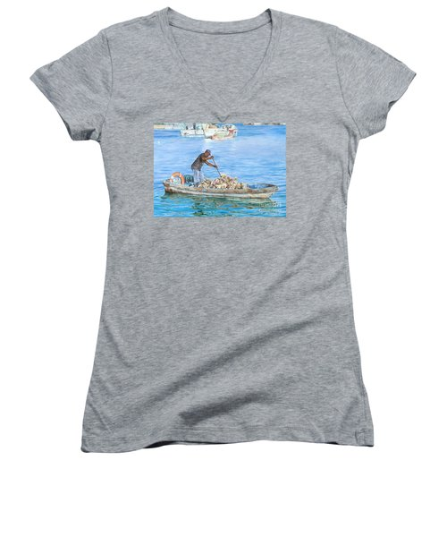 Precious Cargo Women's V-Neck (Athletic Fit)