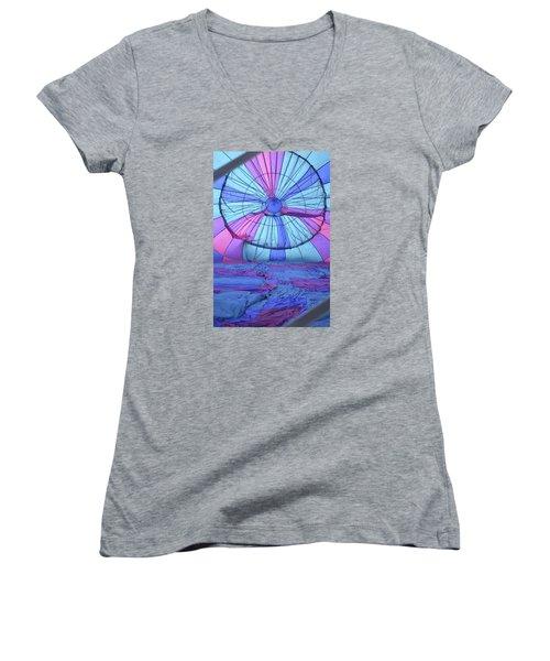 Preparing For Lift Off Women's V-Neck T-Shirt