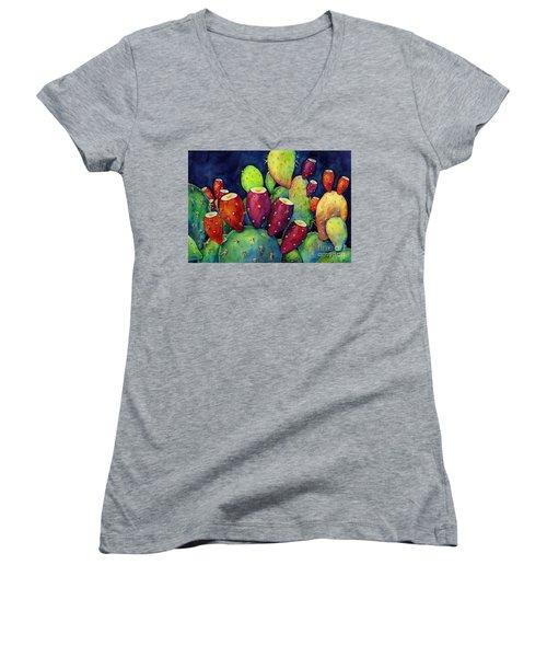 Prickly Pear Women's V-Neck