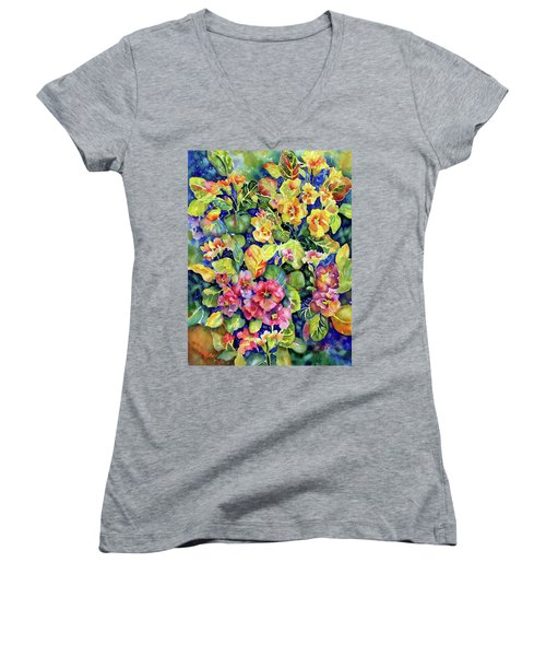 Primrose Patch I Women's V-Neck (Athletic Fit)
