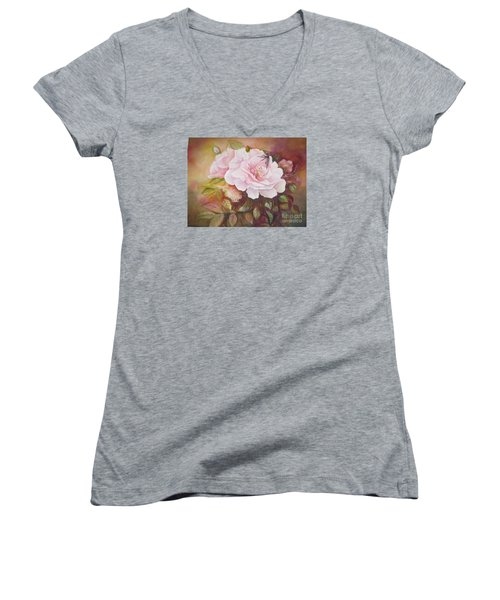 Primrose Women's V-Neck T-Shirt (Junior Cut)