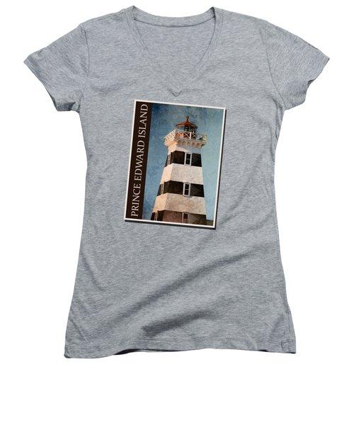 Prince Edward Island Shirt Women's V-Neck
