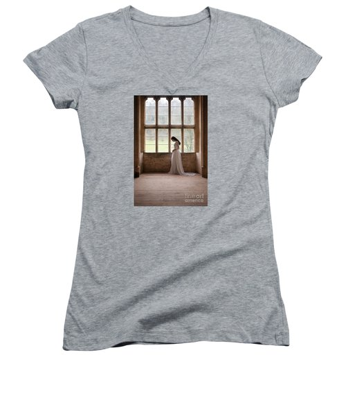 Princess In The Castle Women's V-Neck T-Shirt