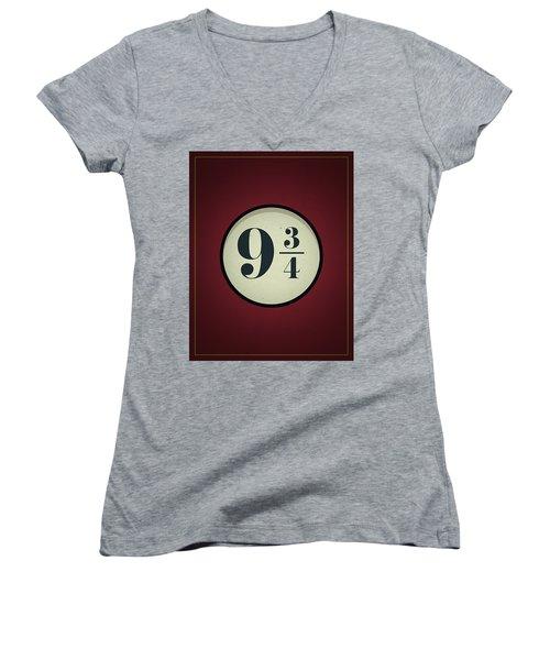 Print Women's V-Neck (Athletic Fit)