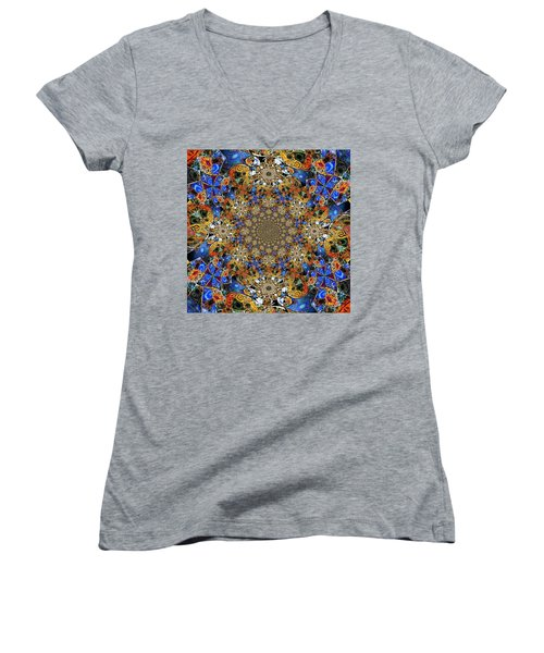 Prismatic Glasswork Women's V-Neck T-Shirt