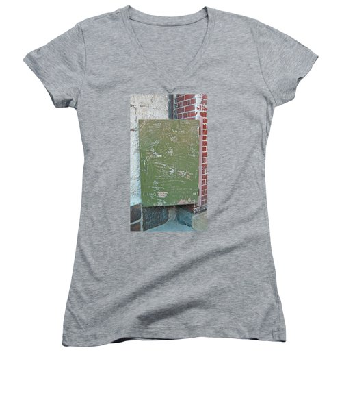 Prison Graffiti 2 Women's V-Neck