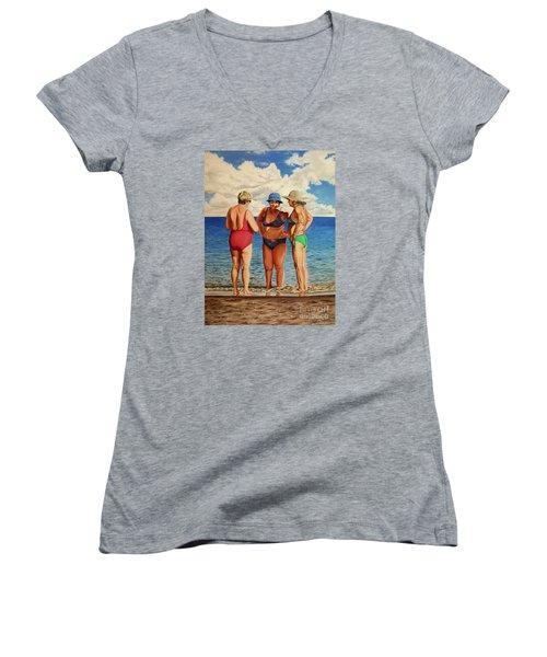 Profound Matters - Asuntos Profundos Women's V-Neck T-Shirt