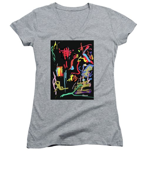 Progress Of A Small Experiment Women's V-Neck T-Shirt