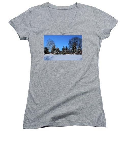 Provincial Pines Women's V-Neck T-Shirt