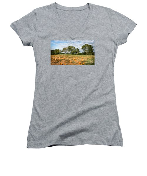 Pumpkin Patch Women's V-Neck