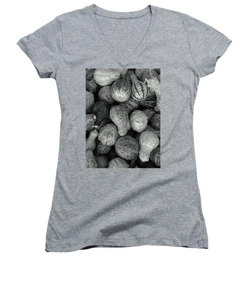 Pumpkins Women's V-Neck T-Shirt