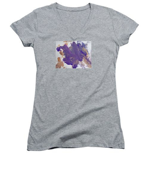 Purple By Emma Women's V-Neck T-Shirt
