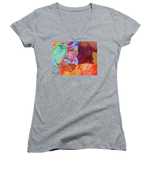 Puzzle Women's V-Neck T-Shirt