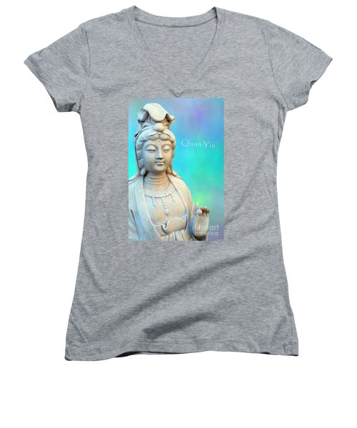Quan Yin Sedona Women's V-Neck (Athletic Fit)