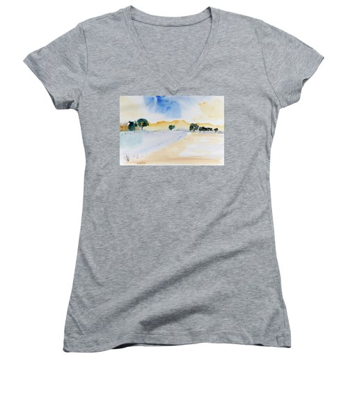 Summertime Women's V-Neck