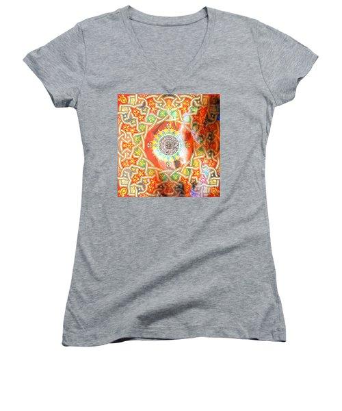 Qull Hu Allah Women's V-Neck T-Shirt