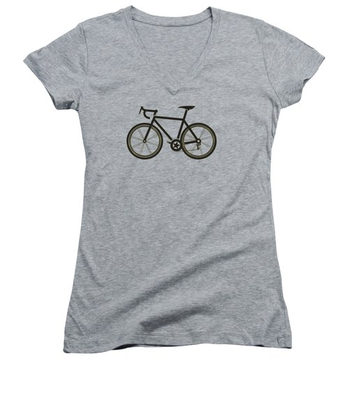 Racing Bicycle Women's V-Neck (Athletic Fit)