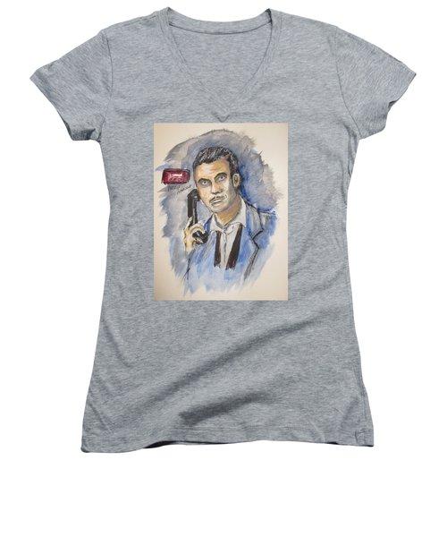 Radio's Philip Marlowe Women's V-Neck T-Shirt