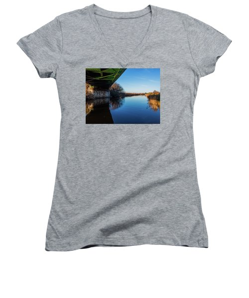 Railway Bridge Women's V-Neck
