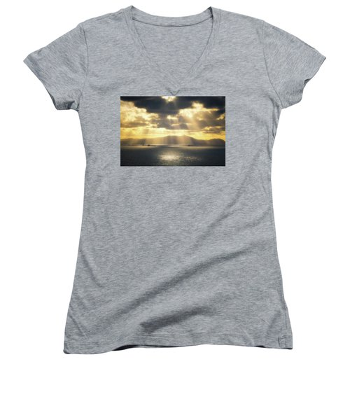 Rain Of Light Women's V-Neck