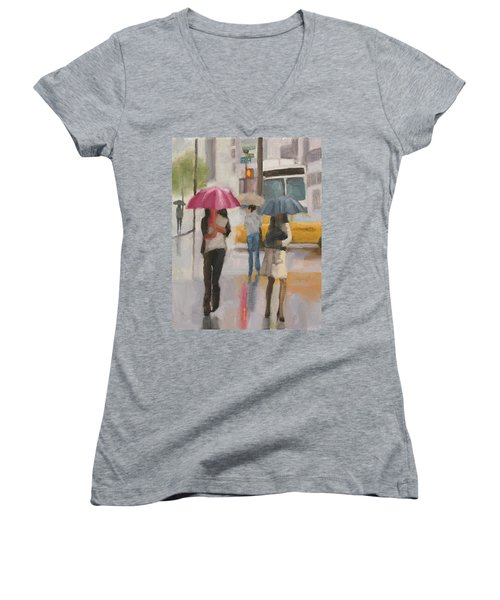 Rain Walk Women's V-Neck (Athletic Fit)