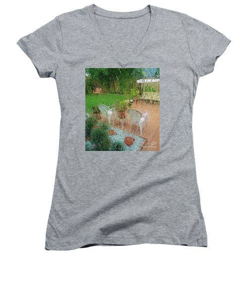 Rainy Day Women's V-Neck T-Shirt
