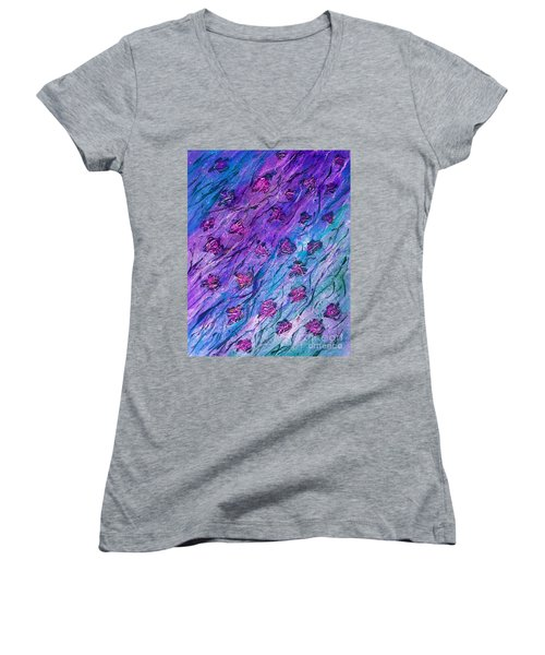 Rainy Days And Sundays  Women's V-Neck T-Shirt (Junior Cut)