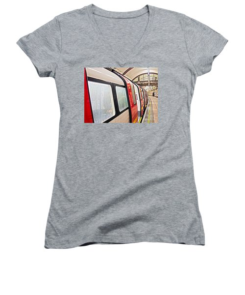 Rainy London Day Women's V-Neck