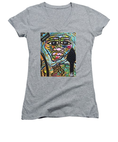 Raise Moor Kings Women's V-Neck