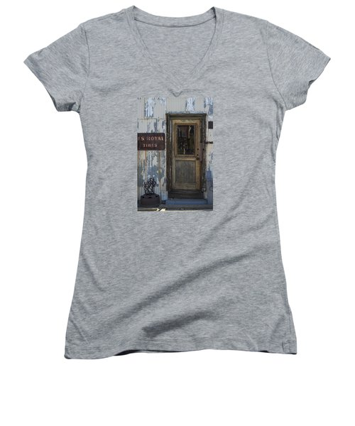 Randsburg Door No. 2 Women's V-Neck (Athletic Fit)