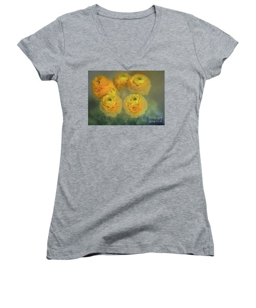 Ranunculus Women's V-Neck