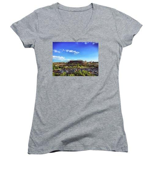 Ravens Stadium Women's V-Neck T-Shirt