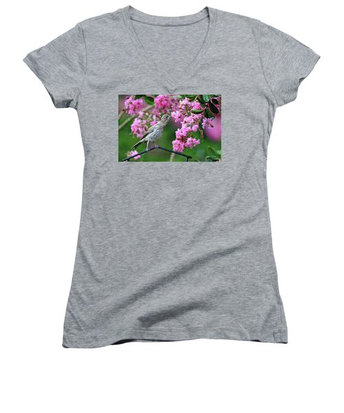 Reach For It Women's V-Neck (Athletic Fit)