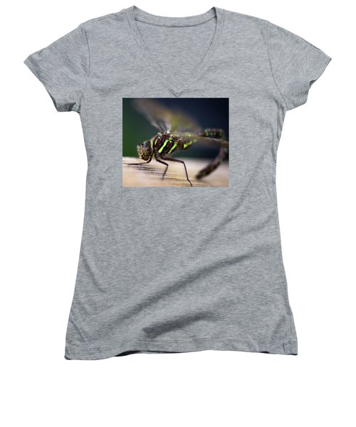Ready For Takeoff Women's V-Neck T-Shirt (Junior Cut) by Sherman Perry
